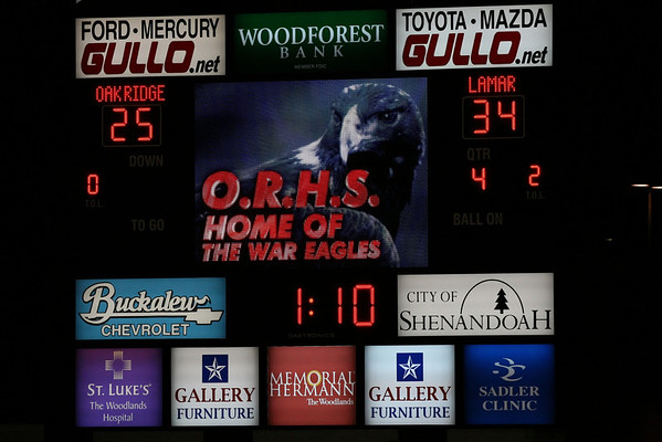 Lamar vs. Oak Ridge