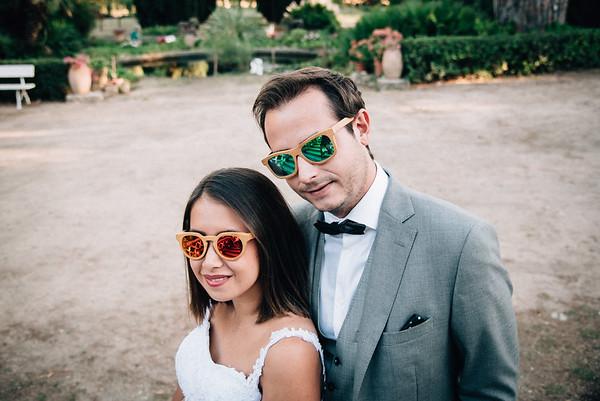 Marion & Maxime Couple Domaine de Rochebelle