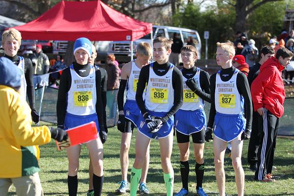 2014 MIAA State Open XC D2 Boys