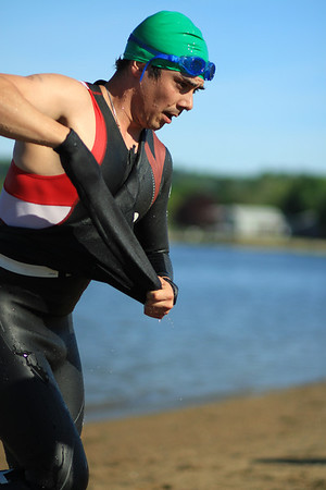 2014 Mystic River Triathlon - SWIM