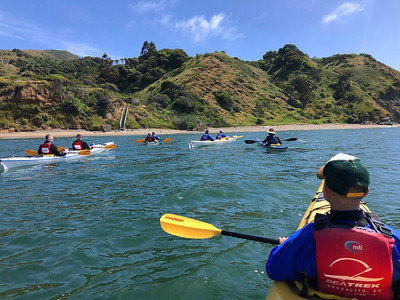 Angel Island Kayak: May 4, 2019