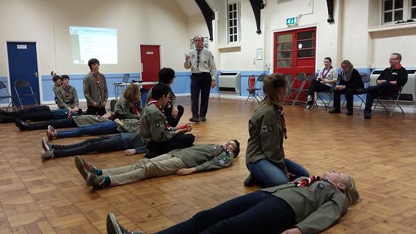 Unit First Aid training