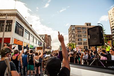 March Against Media, Minneapolis, June 3