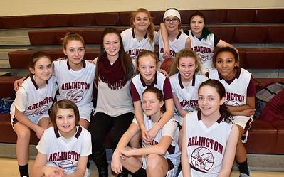 Meet The AMHS Girls M.S. Basketball Team photos by Gary Baker