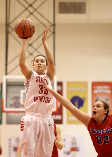 SNHS Girls Basketball vs Iroquois West  2015