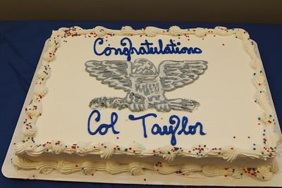 2019 Col David Taylor's promotion ceremony