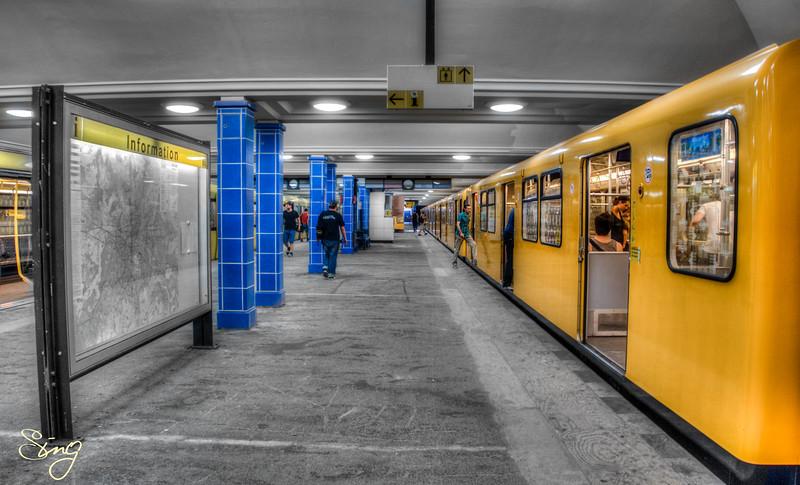 Underground Life. Berlin, Germany