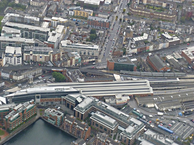 The Railways of Dublin from the Air