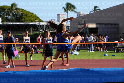 Girls High jump 022610