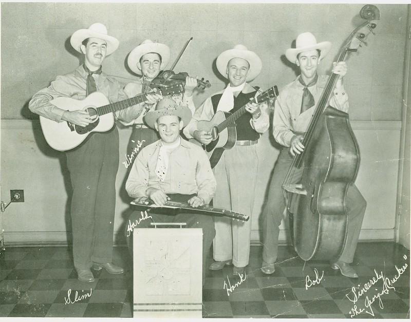 Georgia Crackers Hank, Slim and Bob Newman with the Gang