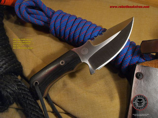 Relentless Knives M2 Talont Military Survival knife