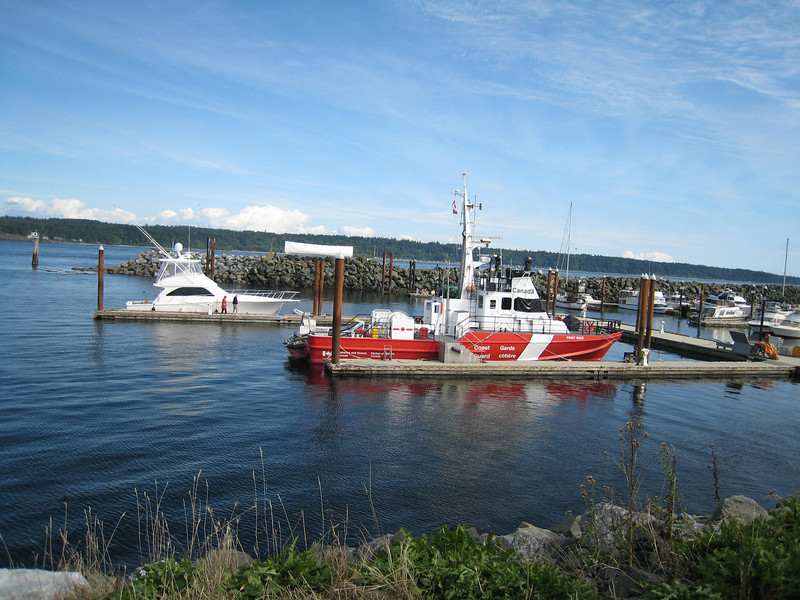 Coast guard at Campbell River