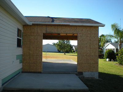 Construction  on The Villages House