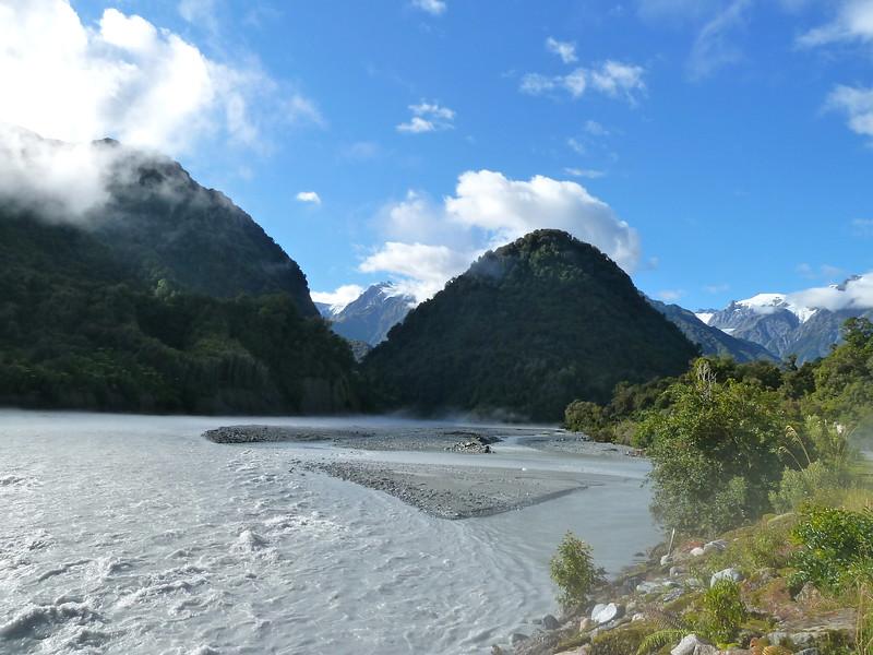 Franz Joseph glacier route, NZ (Feb 2011)