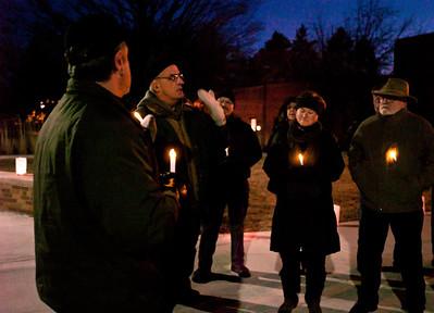 Mequon City Hall, Candle Light Vigil