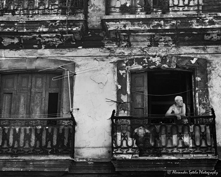 Cuba B&W