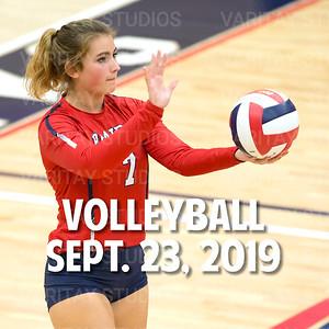 Prairie Volleyball, Sept. 23, 2019