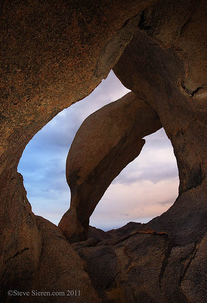 Cyclops Arch, Alabama Hills, California - Eastern Sierra