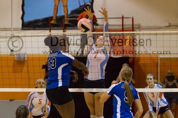 Apopka Blue Darters @ Boone Braves Girls Varsity Volleyball Playoffs - 2013