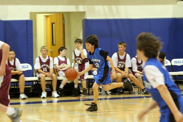 Basketball B Team 1.10.11