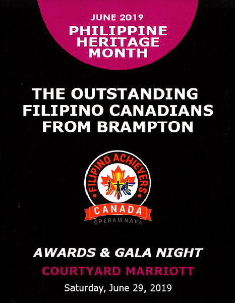 The Outstanding Filipino Canadians from Brampton