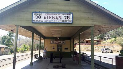 2016 Feb 12 - Atenas Railroad Museum w/ Reagan