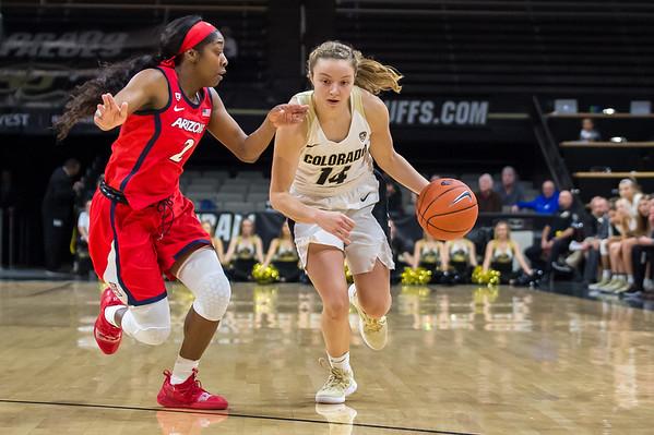 PAC12-Women's Basketball-CU vs Arizona-20190104