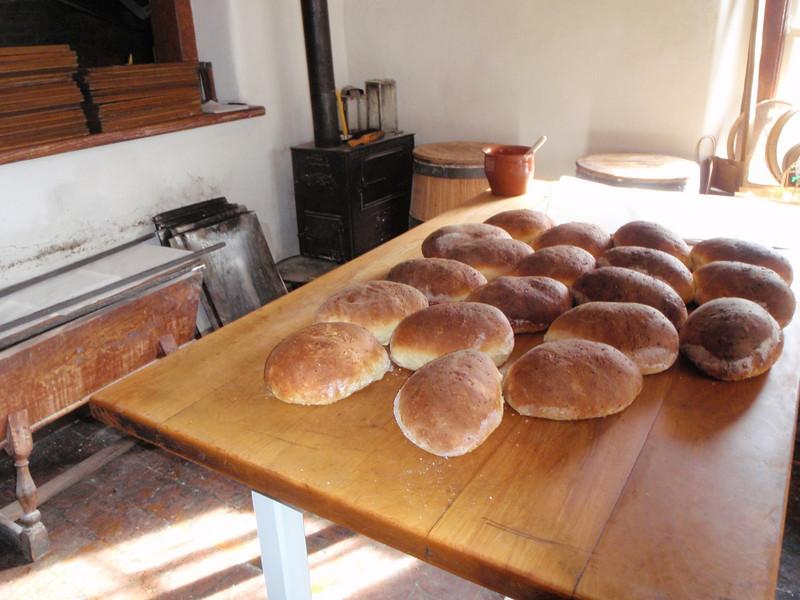 Warm yummy fresh homemade bread!