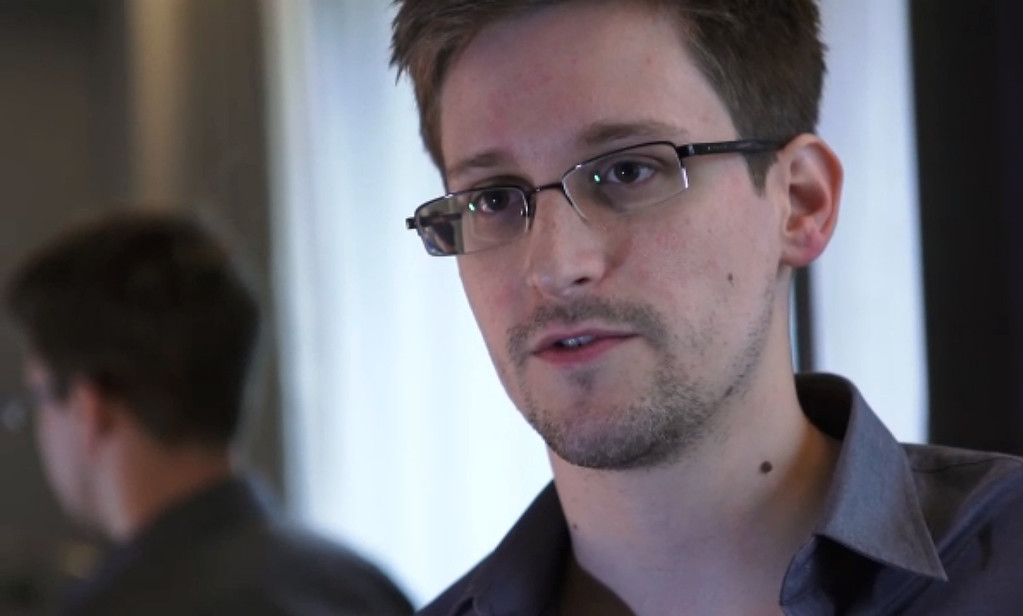 . Edward Snowden, who had been working at the National Security Agency for the past four years, speaking during an interview with The Guardian newspaper at an undisclosed location in Hong Kong. The 29-year-old government contractor revealed himself as the source behind bombshell leaks of US monitoring of Internet users and phone records, as US intelligence pressed for a criminal probe.  