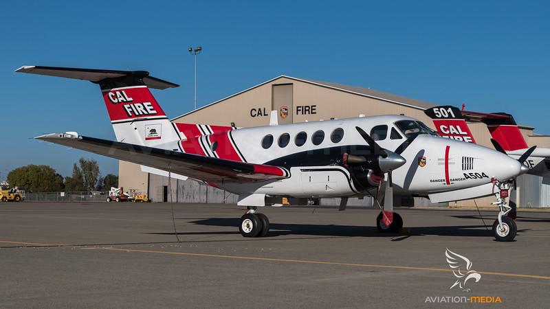 CAL Fire / Beechcraft A200CT Super King Air / N463DF