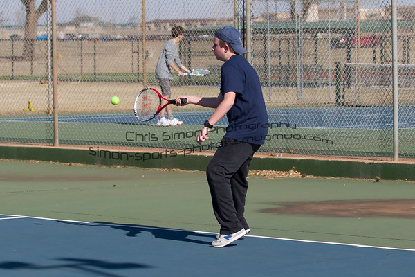 KHS TENNIS @ ELK CITY (CLINTON TOURNAMENT)