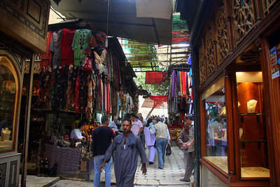 Cairo, Khan el-Khalili bazaar, Atmosphere & it's People