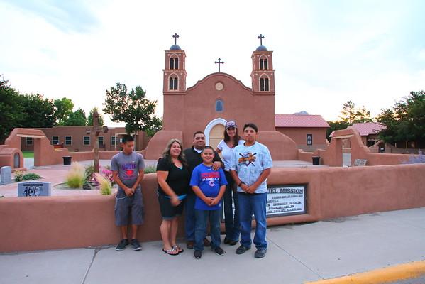 Mr & Mrs Angel Garcia & Family