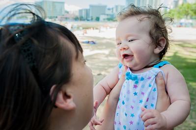 Molly Kelly & Baby Cora