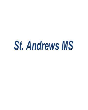 St. Andrews MS