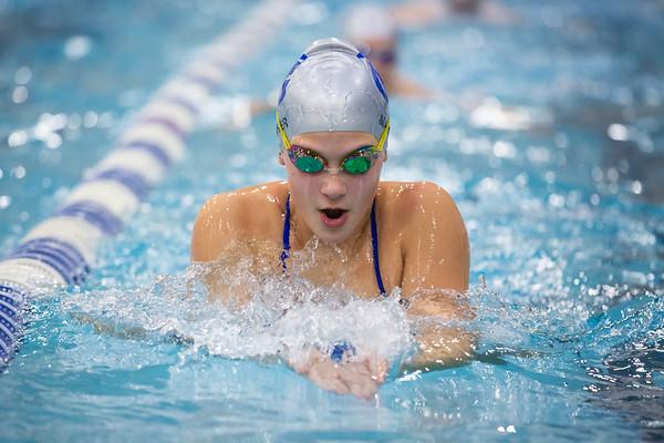 2019 GVHS Swim and Dive vs Rustin