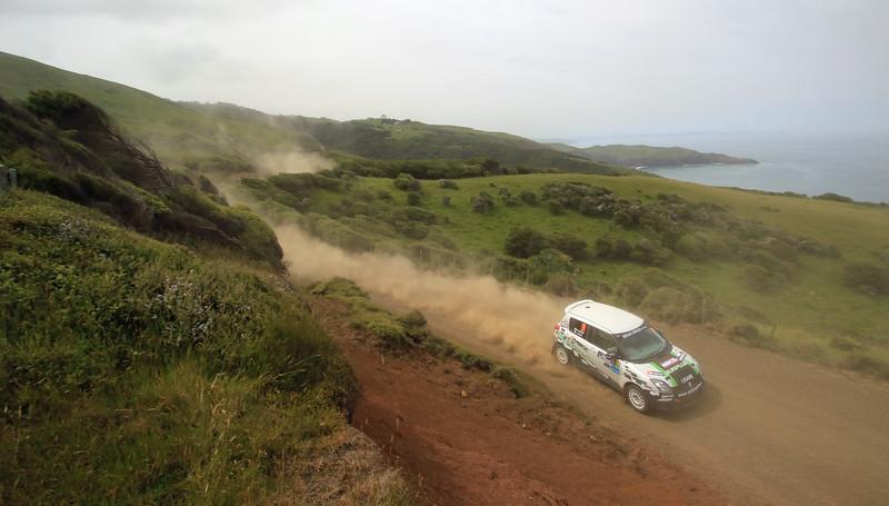 Kimito Kondo, Suzuki Swift Sport, SS2 Whaanga Coast 1.