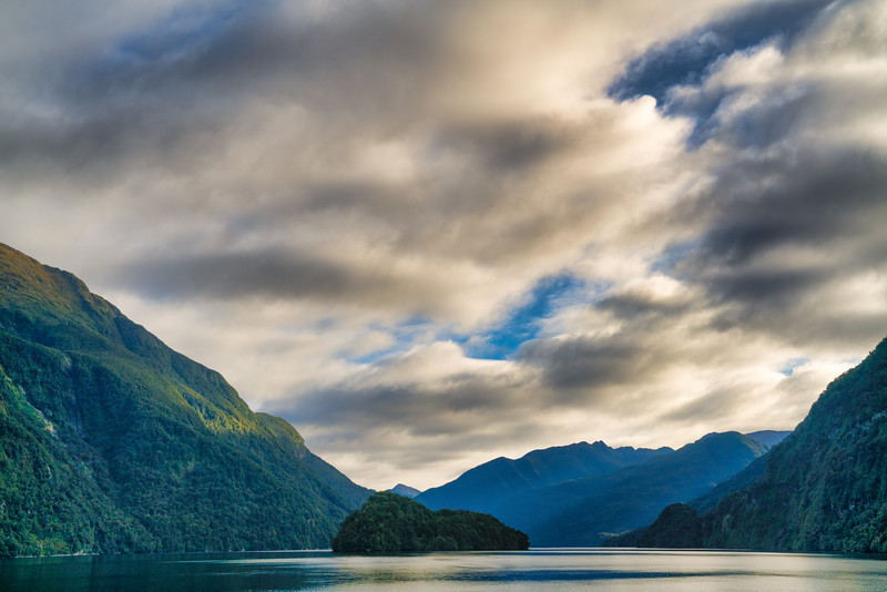 Clouds Over Doubtful Sound