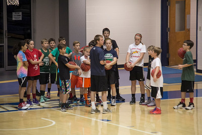 Basketball Summer Camp at VU 2016