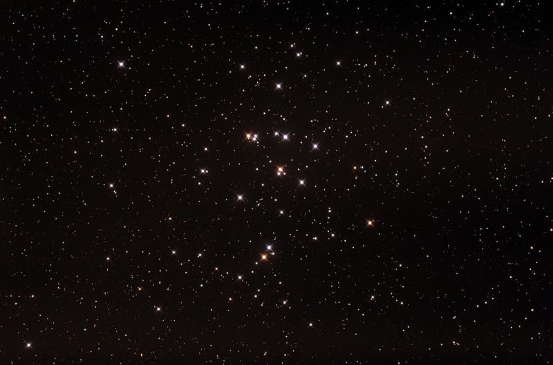 M44 - NGC2632 - Praesepe or Beehive Cluster - 27/12/2014 (Processed stack)