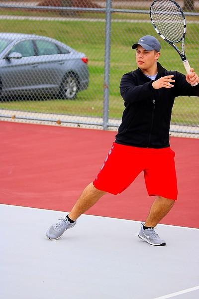 BOYS VARSITY TENNIS - HERE - 03.28.17