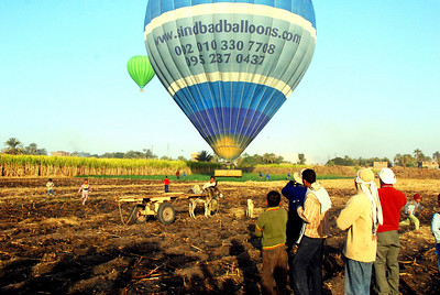 8. BALLOONING -THE VALLEY OF THE KINGS, EGYPT