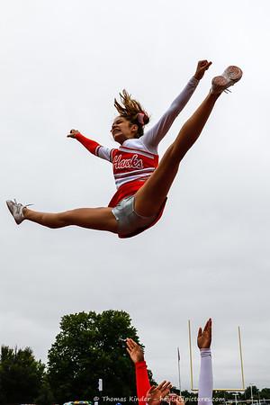 Varsity Cheer TC Williams 10/14/17
