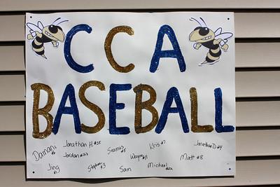 CCA Baseball Senior Game 2013