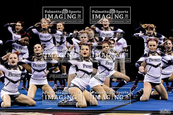 Powdersville-2019 State Cheerleading Championship