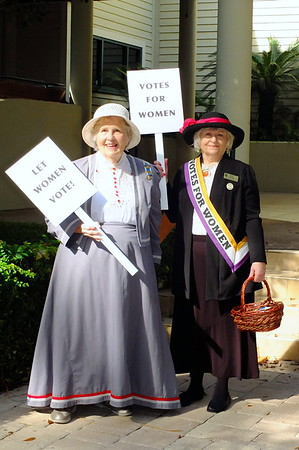 2019 DAR  Women's Right to Vote Centennial Celebration