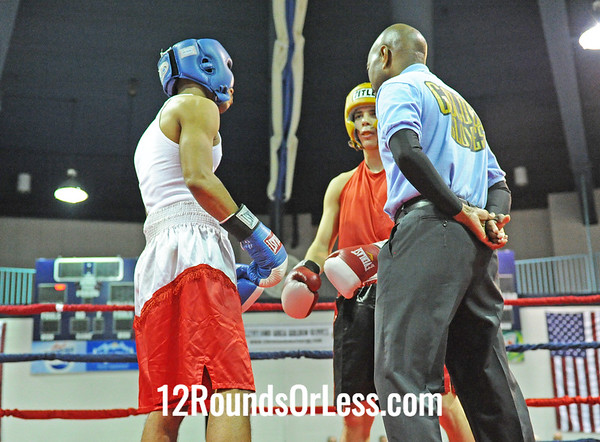 Alessandro Cutrona (Salem B.C.) vs Chris Hall (MLK Premier Rec. Ct.)  141 Pound-Sub-Novice  Bout # 5