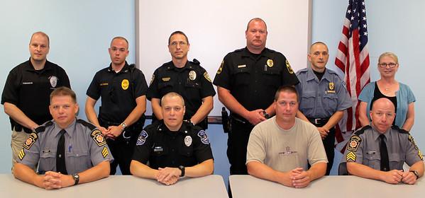 Police Officer, Department Awards, Frackville (6-28-2011)