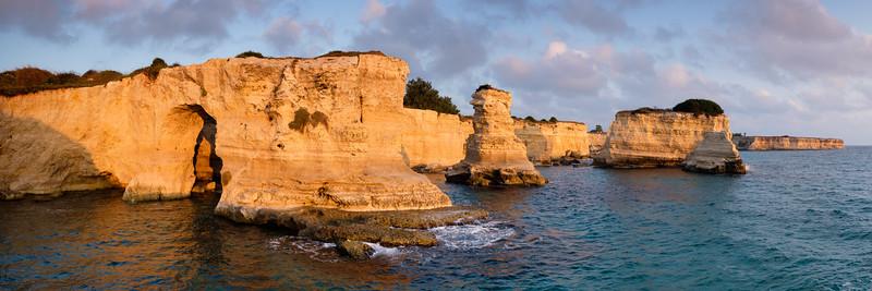 Torre Sant'Andrea Cliffs