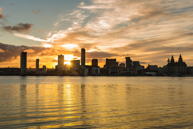 Liverpool Waterfront Sunrise